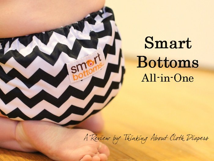 smart bottoms organic cotton all-in-one cloth diaper review