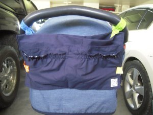 free stroller caddy sewing pattern