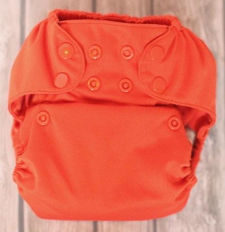 tushmate diaper cover - orange