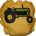 Tractor Applique Custom Cloth Diaper