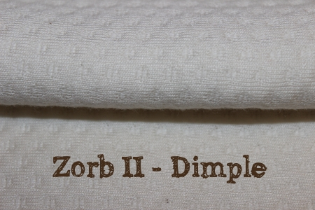 Zorb II dimple fabric for making cloth diaper inserts